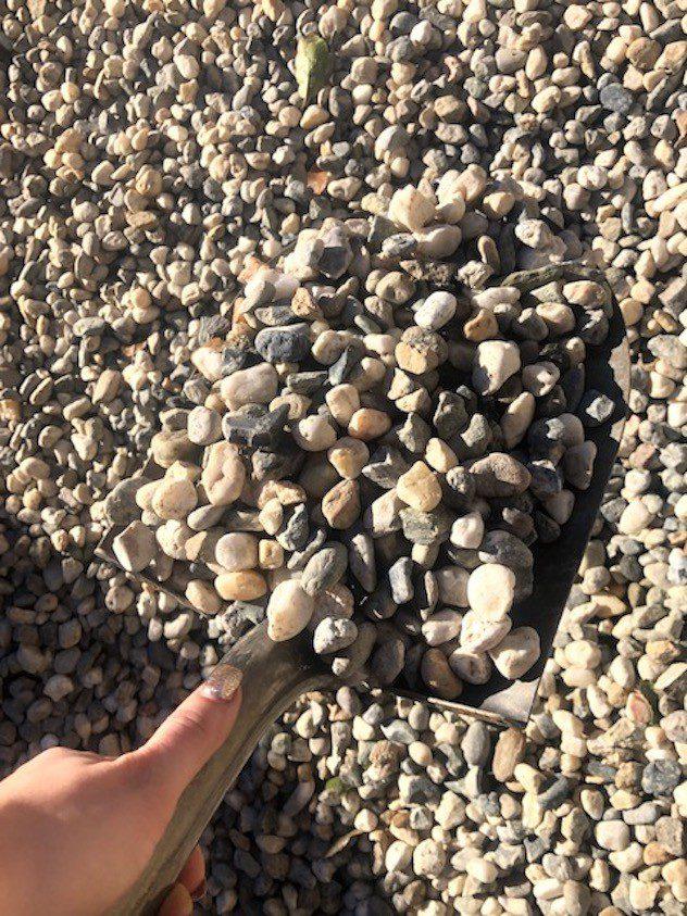 Pea Gravel Cobble Cinder Loucks Landscape Supply